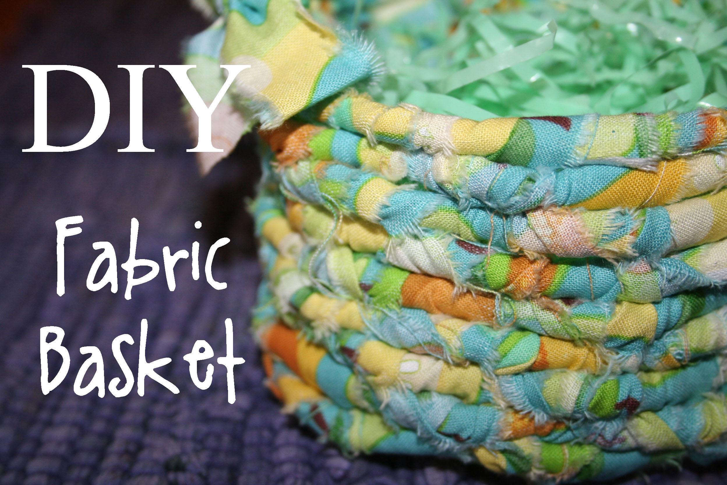 How To Weave A Basket From Fabric : Diy fabric basket the renegade seamstress