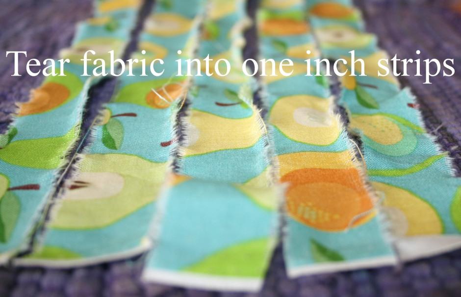 DIY fabric basket tutorial