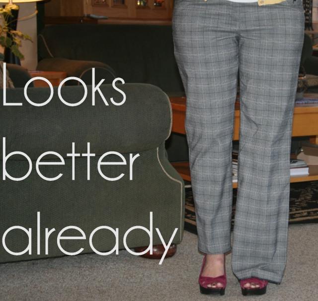 DIY Create Skinny Trousers from Wide Legs Tutorial | The Renegade ...