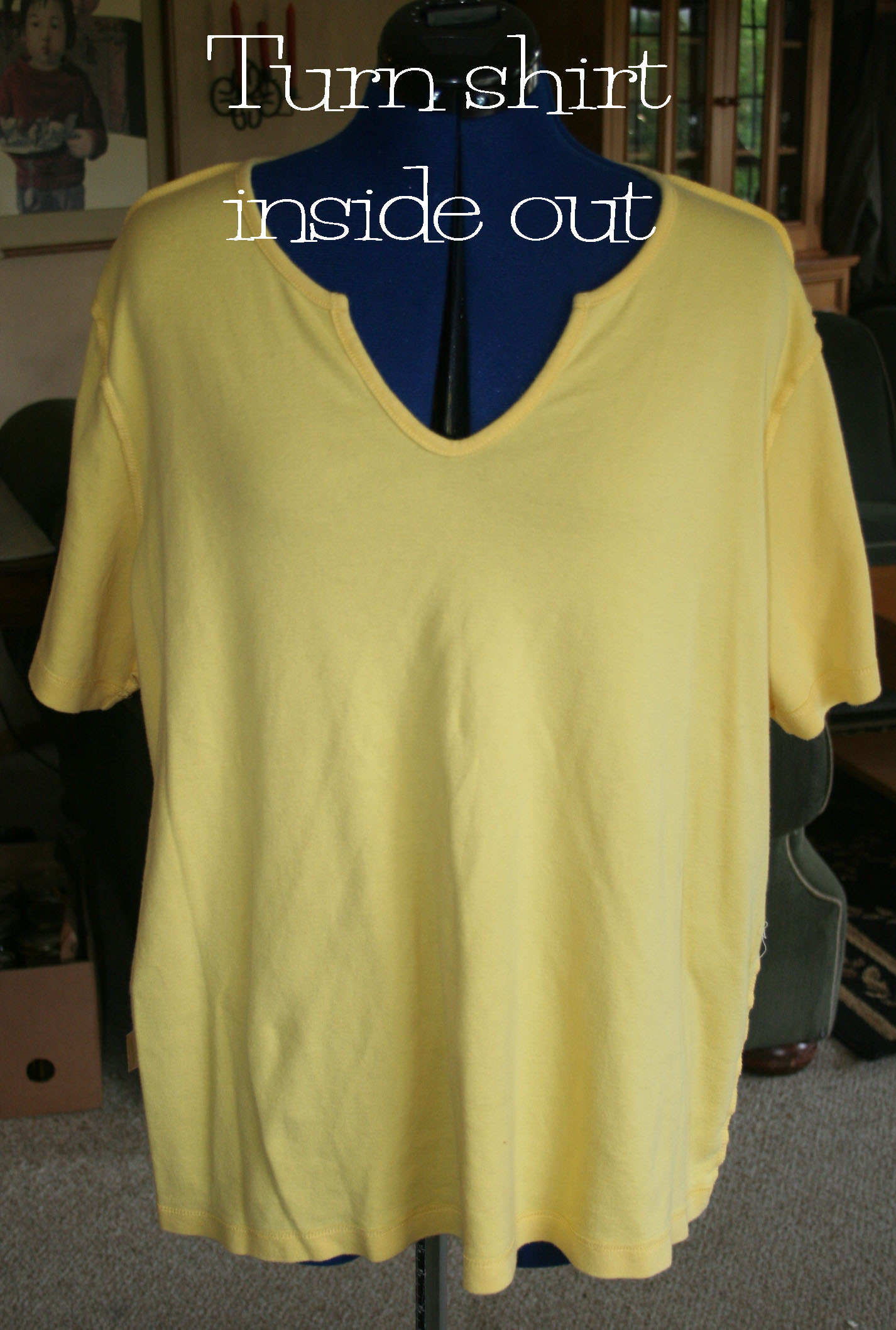 Diy bleach pen t shirt design the renegade seamstress for How to bleach designs into shirts