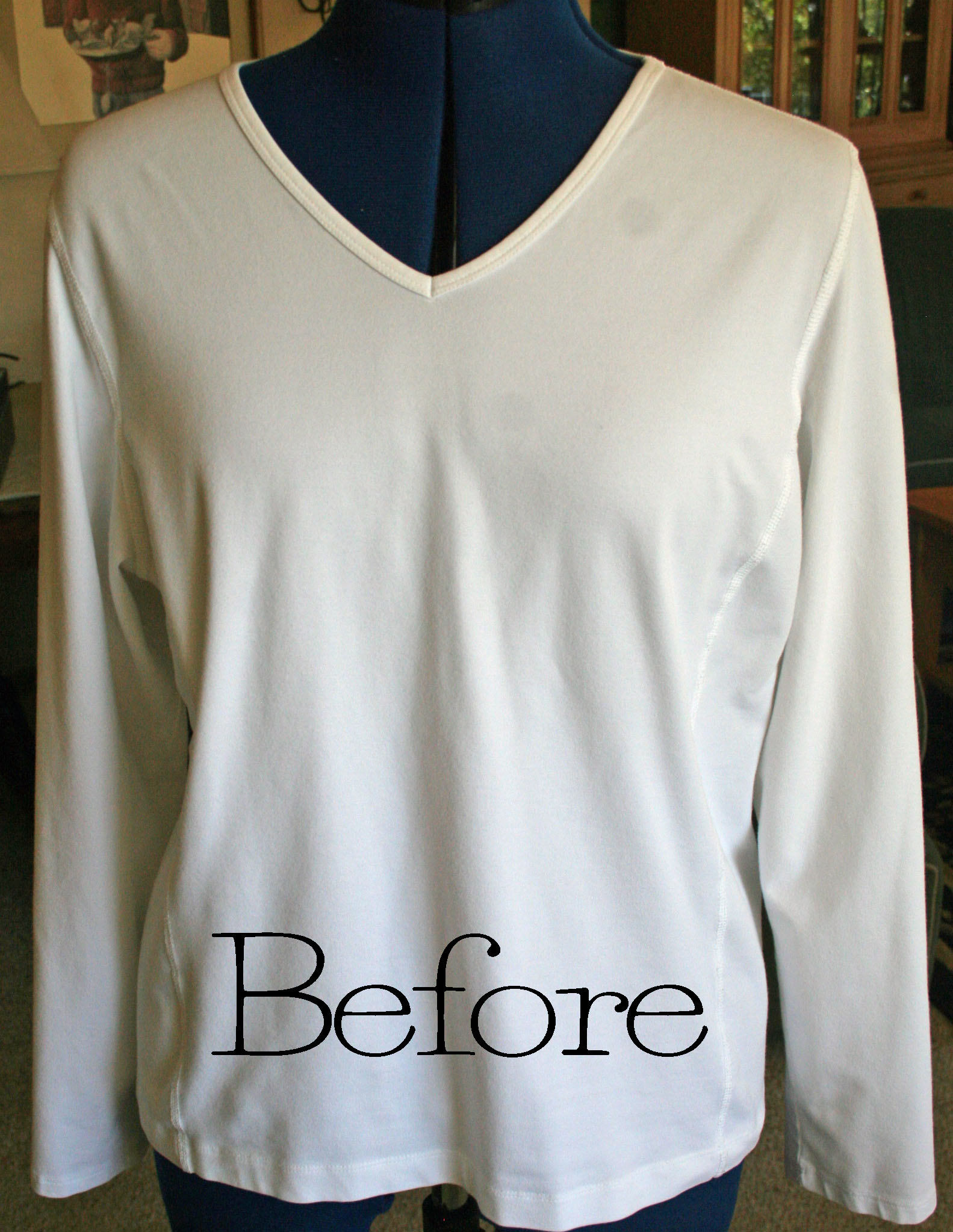 Diy Nautical Shirt With Fabric Paint The Renegade Seamstress