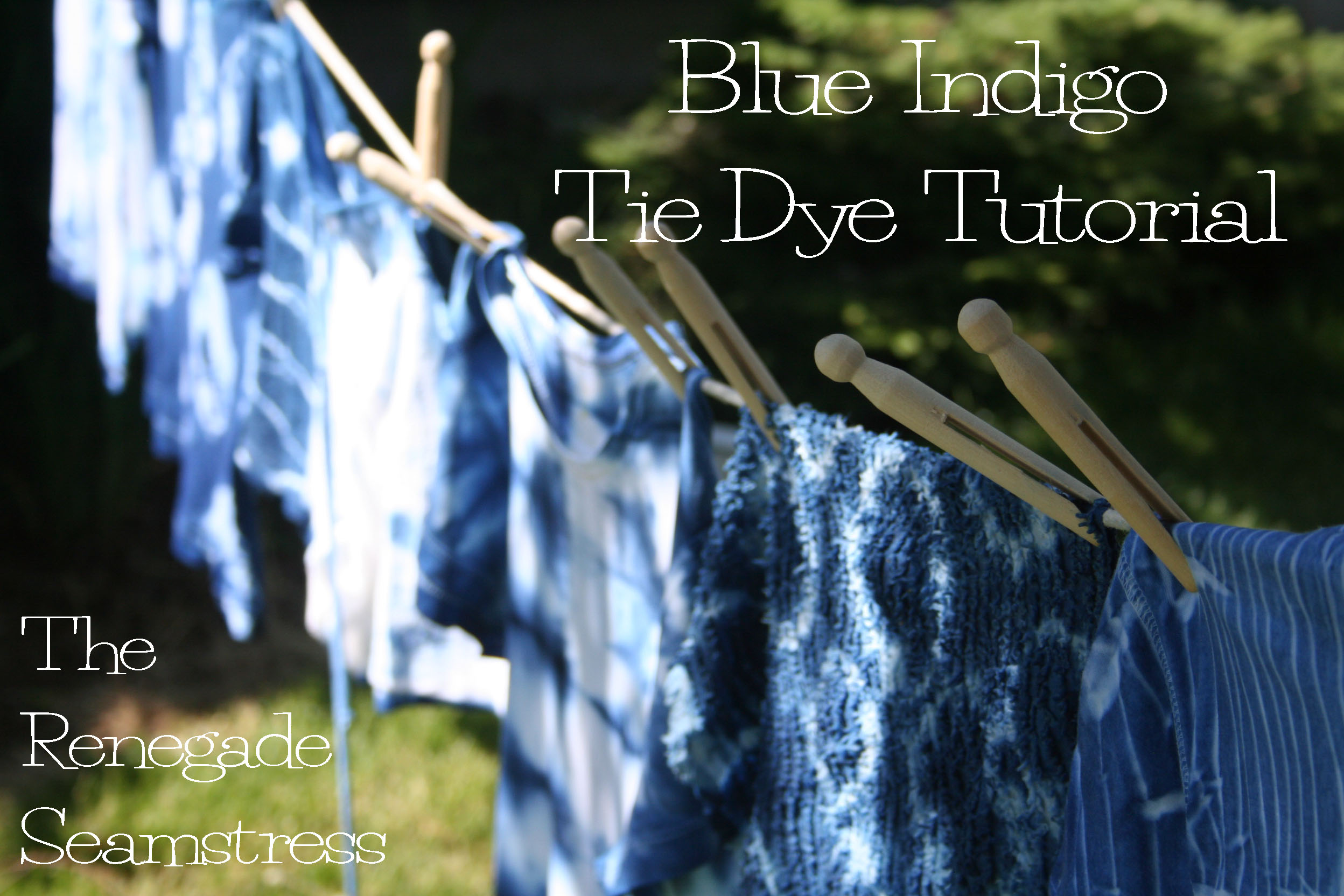Diy blue indigo tie dye refashion the renegade seamstress diy blue indigo tie dye refashion baditri Gallery