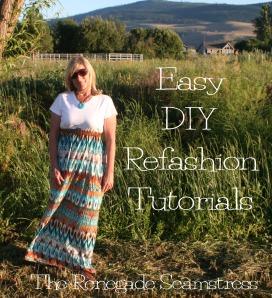 Easy DIY Refashion Tutorials 1