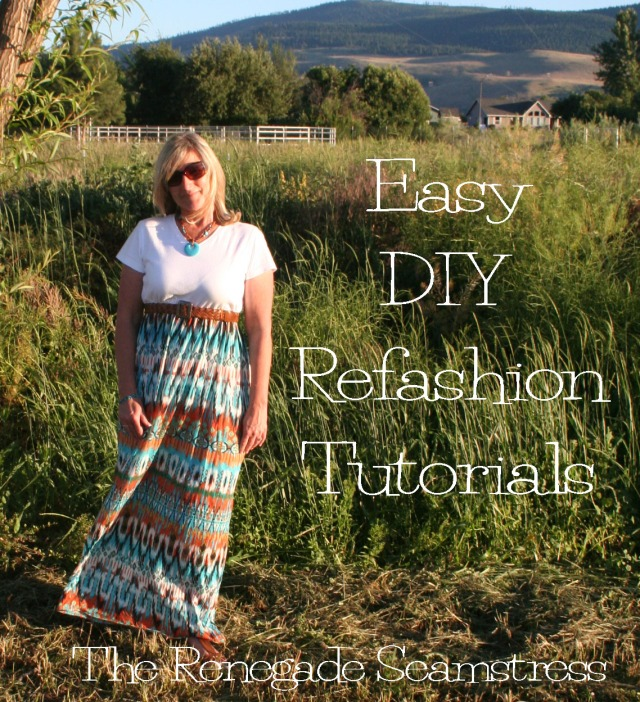 Easy DIY Refashion Tutorials 1