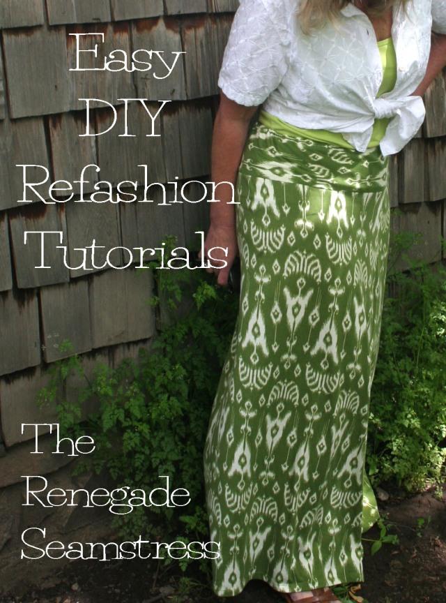 Easy DIY Refashion Tutorials