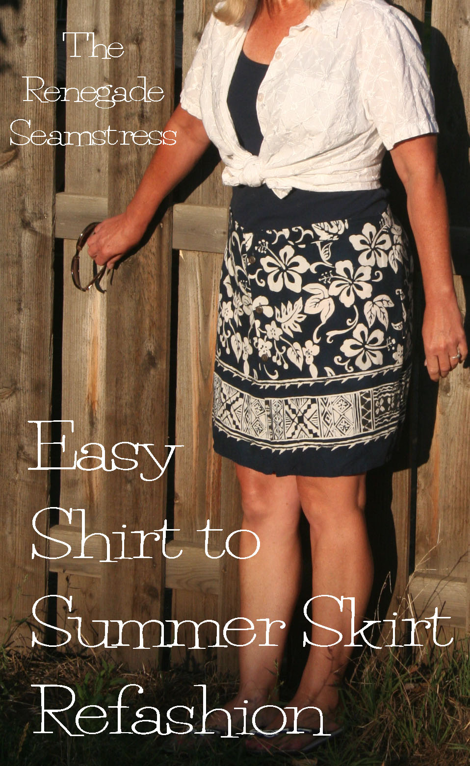DIY: A Girl Can at Least Dream Skirt | The Renegade Seamstress