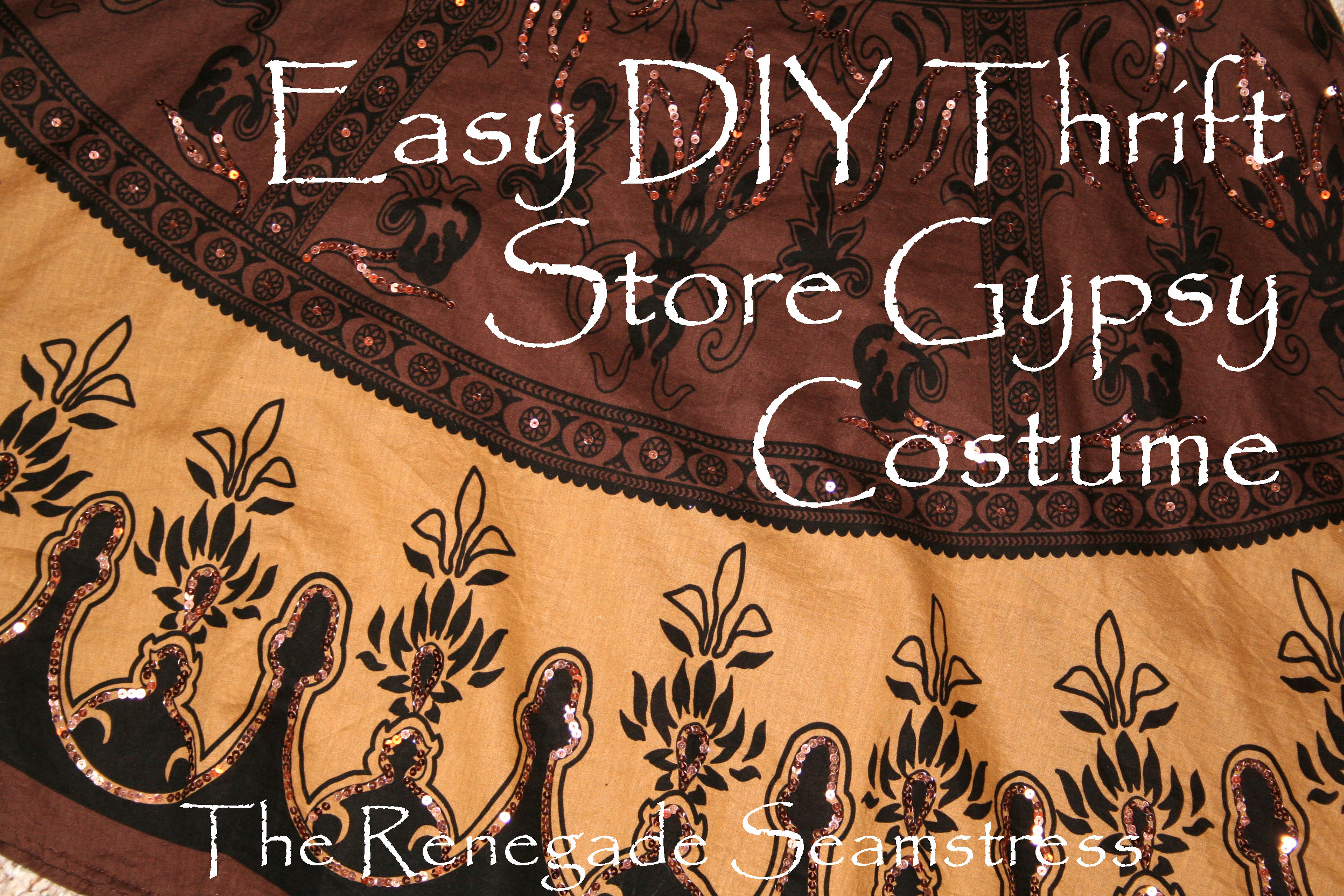 Mrs. Battington ... & Quick and Easy Gypsy Costume | The Renegade Seamstress