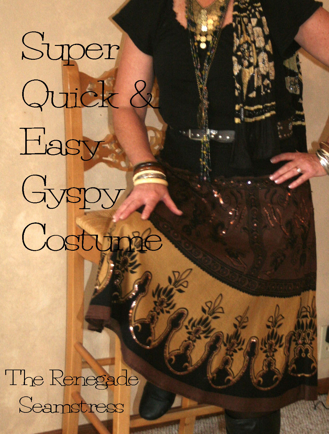 Quick And Easy Gypsy Costume The Renegade Seamstress