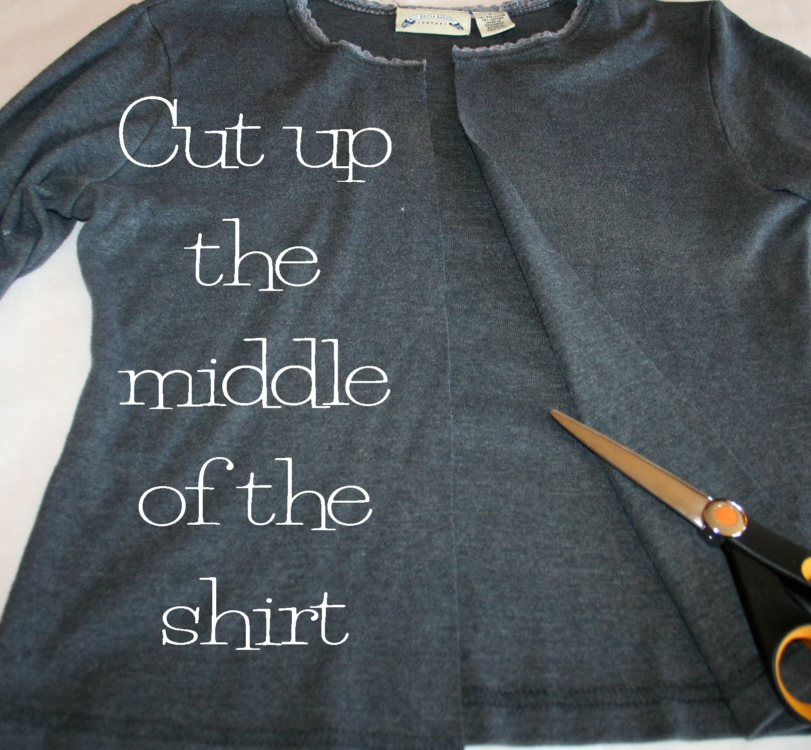 HOW TO cut continuous t shirt yarn  Relevé Design