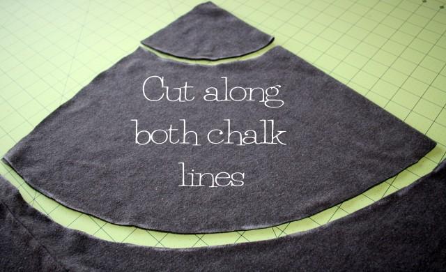 DIY Peplum T Shirt Refashion 10