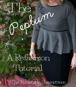 DIY Peplum T Shirt Refashion 12 - Copy