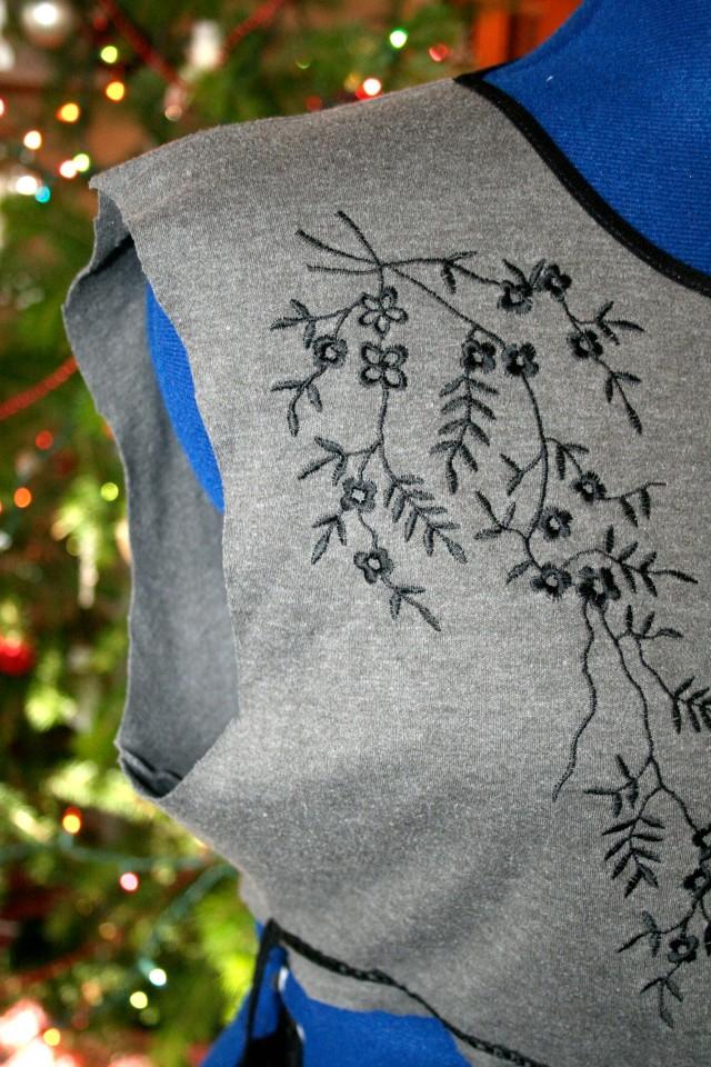 DIY Peplum T Shirt Refashion Tutorial4