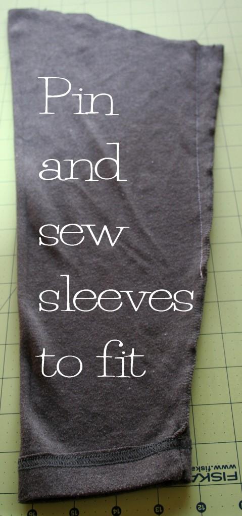 DIY Peplum T Shirt Refashion Tutorial6