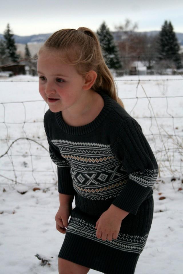 Refashion Sweater Dress Tutorial