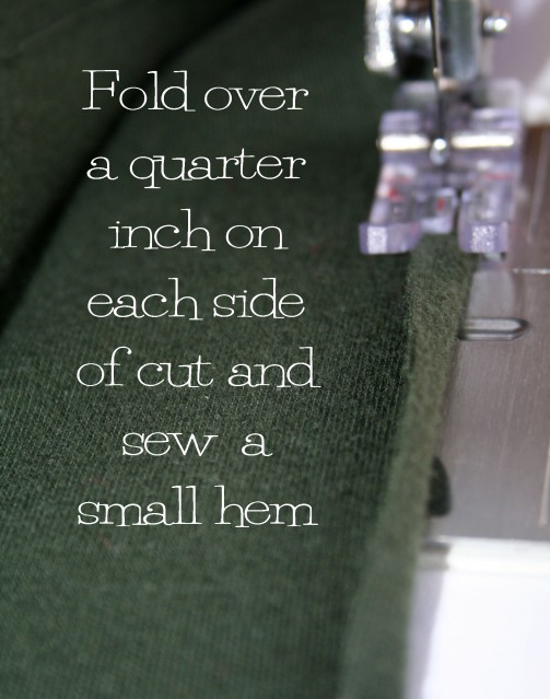 The Renegade Seamstress shows you how to make an old t shirt new again with this easy sleeve refashion tutorial.