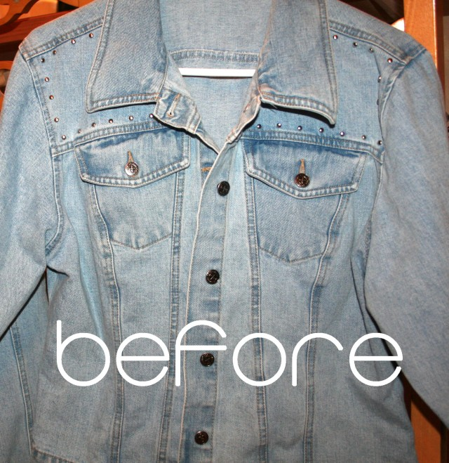 Dress and Denim Refashion Tutorial