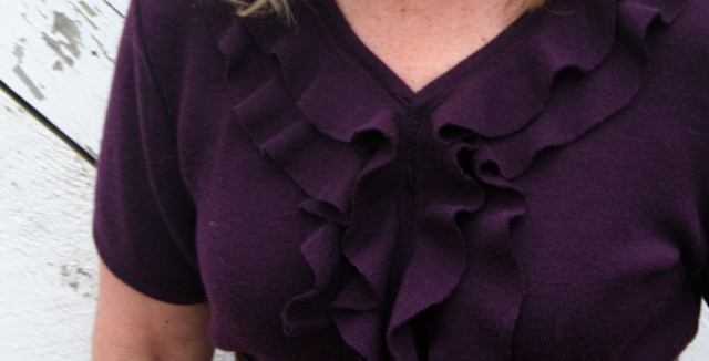 Upcycled Ruffle Sweater Dress4