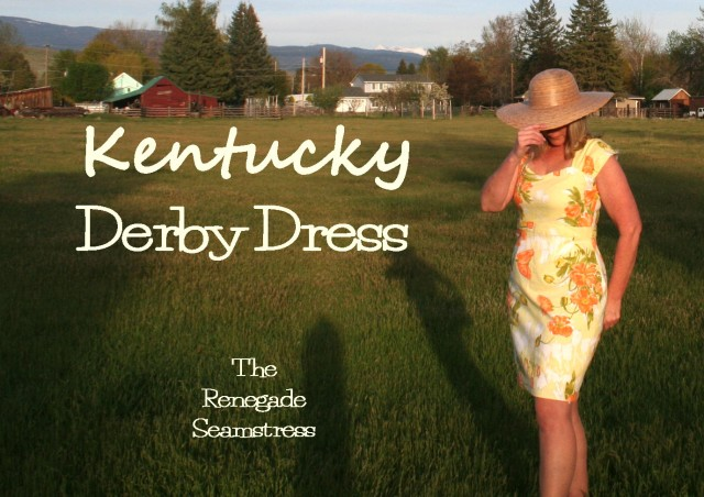Kentucky Derby Dress