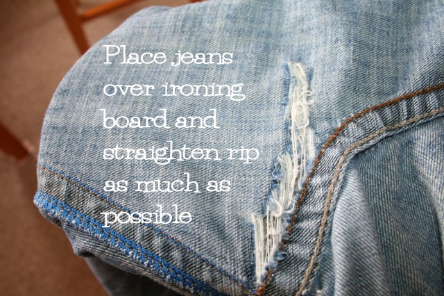 Mend Your Jeans