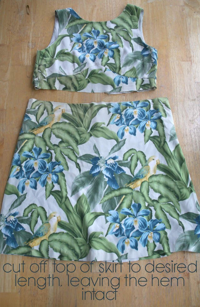 Hawaiian Dress Refashion5