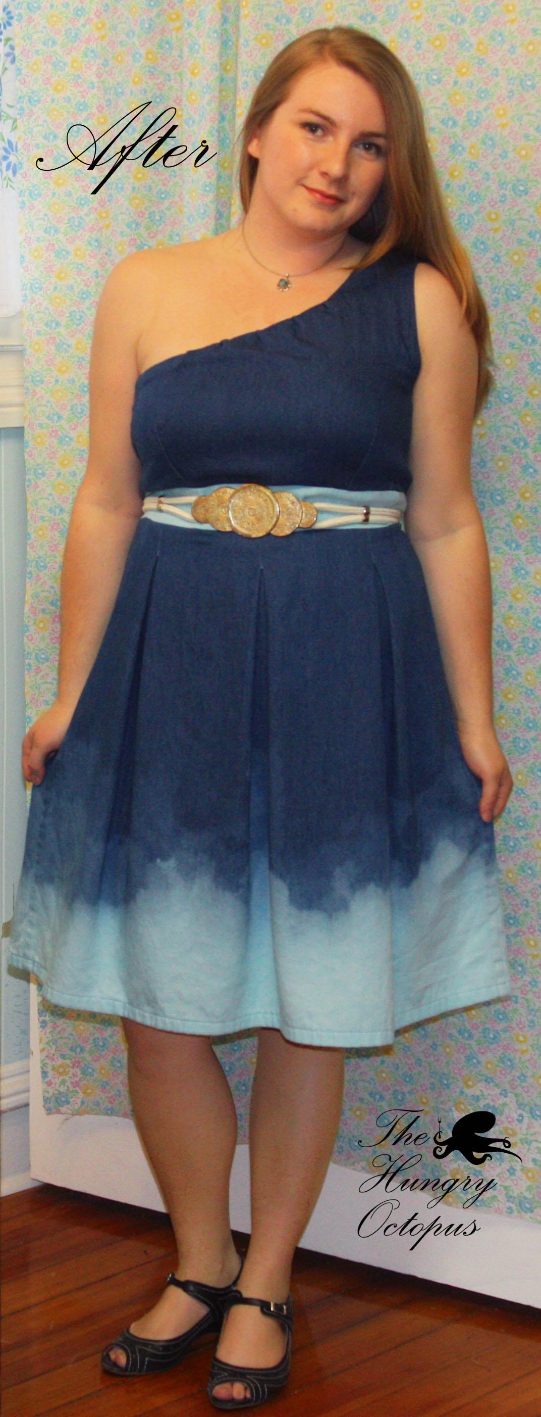 Blue dress 14 june