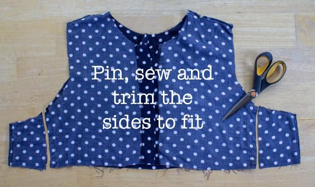 polka dot shirt redesign tutorial