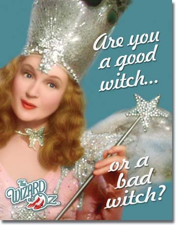 Are you a good witch or a bad witch