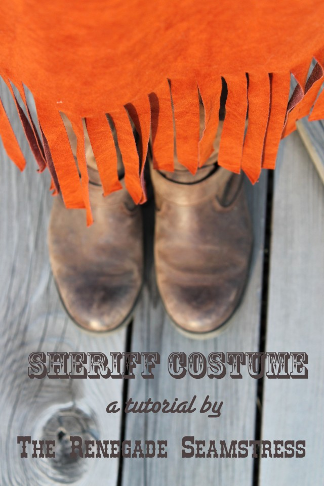 Sheriff Costume Tutorial