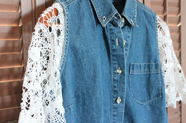 Denim and Doilies: A Delightful Dichotomy
