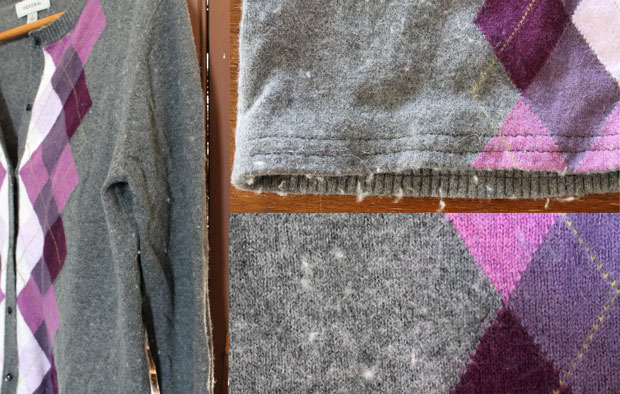 The secret to removing that unsightly pilling from your clothes