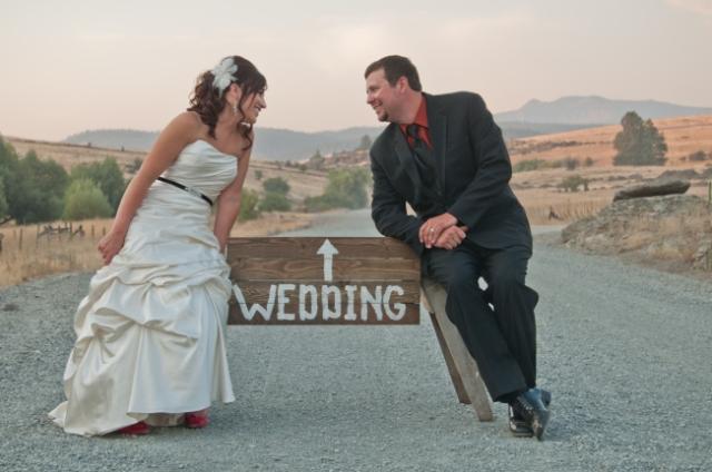 rustic chic wedding