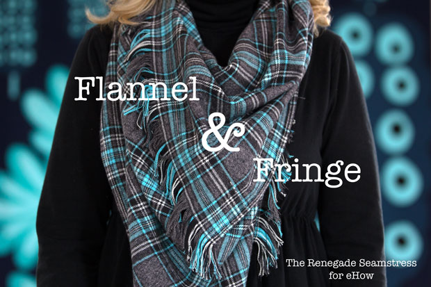 Flannel and Fringe Scarf