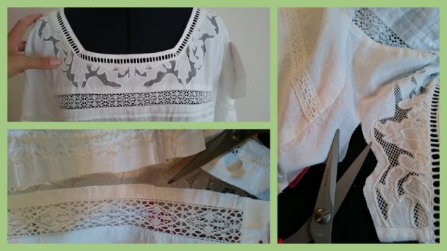 White Lace Top into Trim1