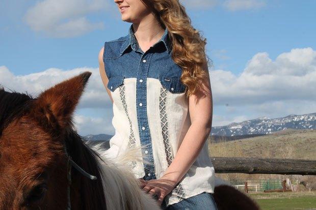 boho chic cowgirl 2