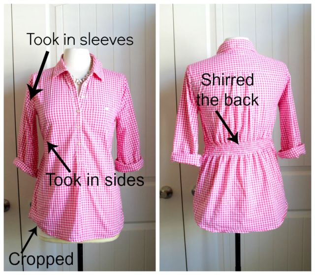 gingham alterations