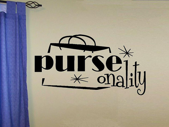Purse-onality