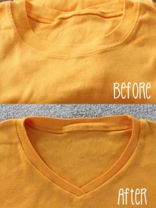 Crew-neck-to-v-neck-before-and-after