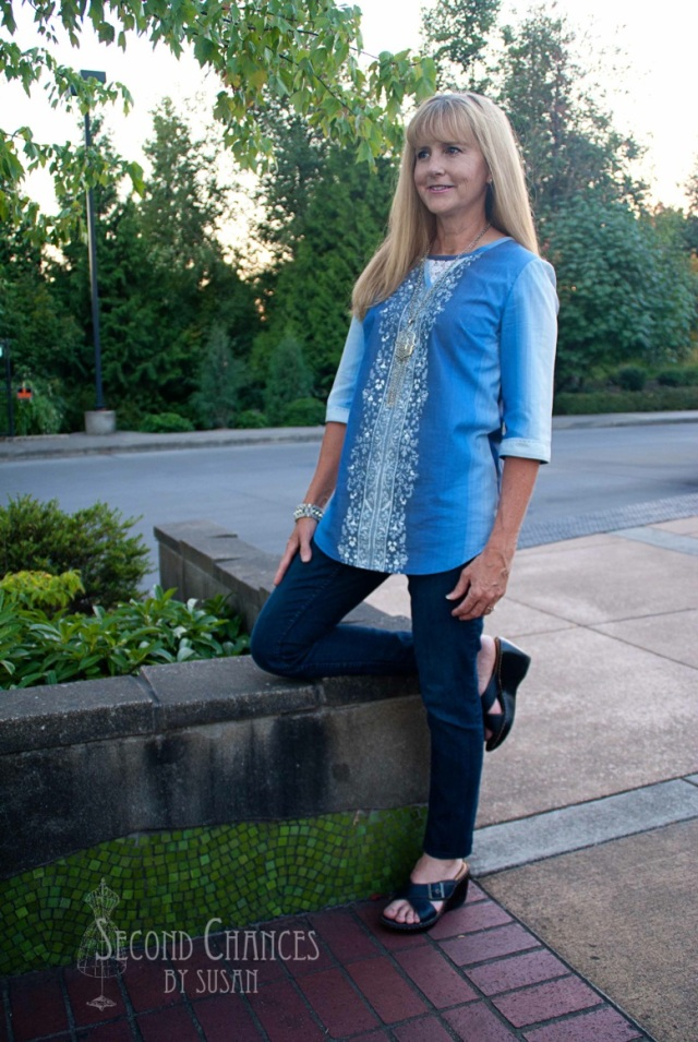 tunic with jeans