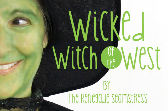 DIY Wicked Witch of the West