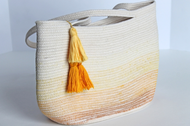 ombre rope bag for Mother's Day