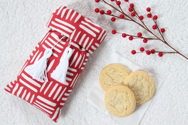 DIY Holiday Cookie Bag