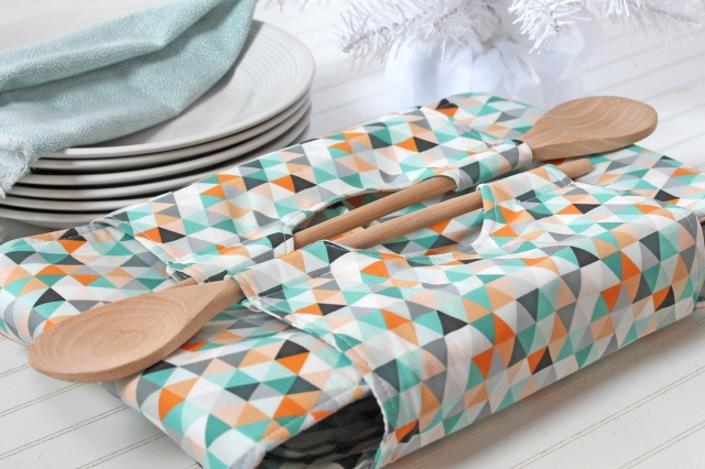 diy fabric casserole carrier for Mother's Day
