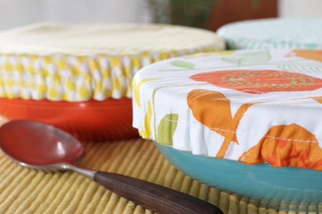 diy fabric bowl covers for Mother's Day