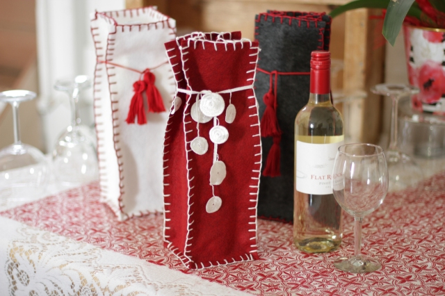 How to make a felt gift bag