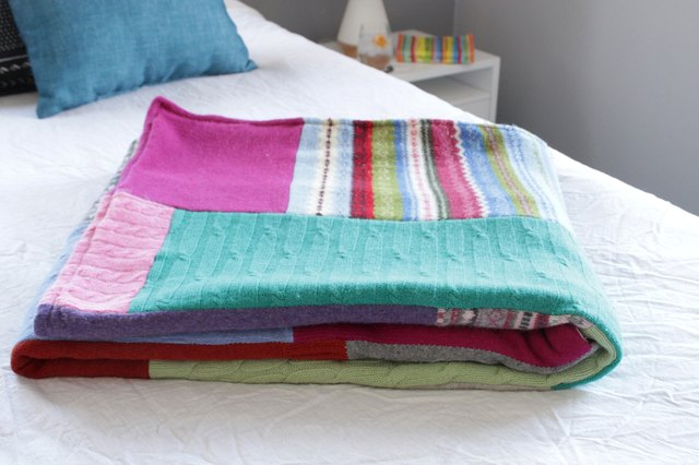 How to Make a Sweater Quilt