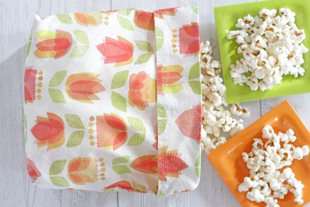 diy reusable popcorn bag