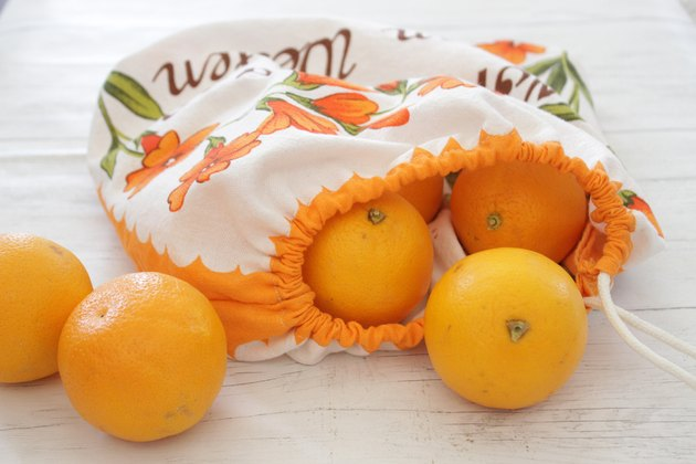 DIY Reusable Grocery and Produce Bag From a Dishtowel