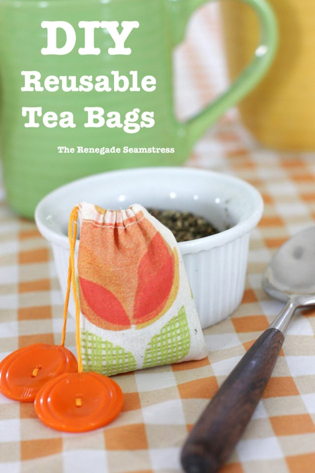 DIY Reusable Tea Bags