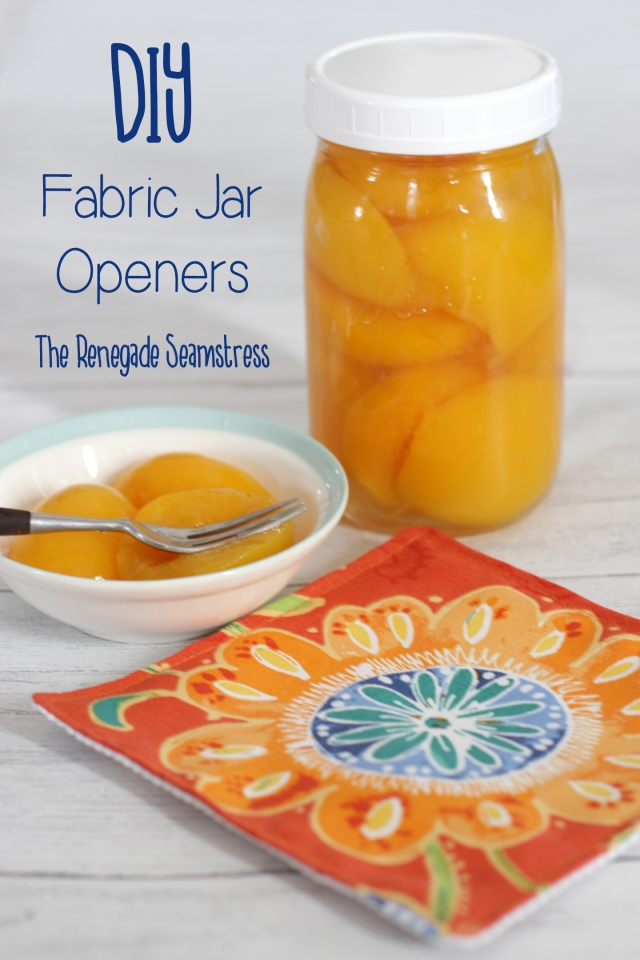 DIY Fabric Jar Openers