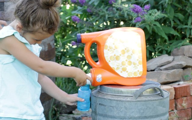 DIY Bubble Station for Kids